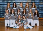 Rogers Rams Girls Varsity Softball Spring 16-17 team photo.