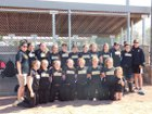 Rison Wildcats Girls Varsity Softball Spring 16-17 team photo.