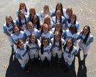Gibbs Eagles Girls Varsity Softball Spring 16-17 team photo.