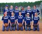 Brewer Patriots Girls Varsity Softball Spring 16-17 team photo.