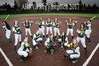 Auburn Trojans Girls Varsity Softball Spring 16-17 team photo.