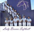 Kirtland Central Broncos Girls Varsity Softball Spring 16-17 team photo.