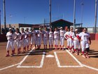Valencia Jaguars Girls Varsity Softball Spring 16-17 team photo.