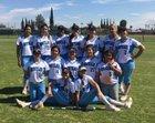 Montclair Cavaliers Girls Varsity Softball Spring 16-17 team photo.