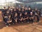 Pacifica Mariners Girls Varsity Softball Spring 16-17 team photo.