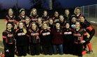 Gravette Lions Girls Varsity Softball Spring 16-17 team photo.
