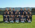 Leland Chargers Girls Varsity Softball Spring 16-17 team photo.