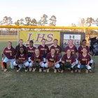 Lumberton Pirates Girls Varsity Softball Spring 16-17 team photo.