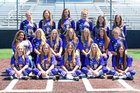 Port Neches-Groves Indians Girls Varsity Softball Spring 16-17 team photo.