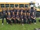 Riverside Rebels Girls Varsity Softball Spring 16-17 team photo.