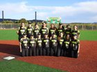Pecos Panthers Girls Varsity Softball Spring 16-17 team photo.