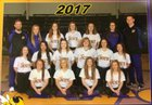 Bay Yellowjackets Girls Varsity Softball Spring 16-17 team photo.