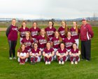 Kittitas Coyotes Girls Varsity Softball Spring 16-17 team photo.