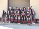 Terry Rangers Girls Varsity Softball Spring 16-17 team photo.