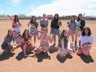 Estancia Bears Girls Varsity Softball Spring 16-17 team photo.
