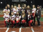 Knoxville Central Bobcats Girls Varsity Softball Spring 16-17 team photo.
