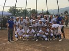 Charter Oak Chargers Girls Varsity Softball Spring 16-17 team photo.