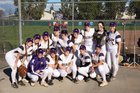 Escalon Cougars Girls Varsity Softball Spring 16-17 team photo.