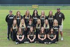 Clinton Yellowjackets Girls Varsity Softball Spring 16-17 team photo.