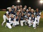 San Marcos Knights Girls Varsity Softball Spring 16-17 team photo.