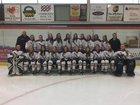 Potsdam Sandstoners Girls Varsity Ice Hockey Winter 17-18 team photo.