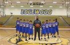 Edgewood Lions Boys Freshman Basketball Winter 17-18 team photo.