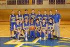 Ferndale Golden Eagles Boys Freshman Basketball Winter 17-18 team photo.