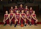 Mark Keppel Aztecs Boys Freshman Basketball Winter 17-18 team photo.