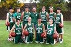 Ontario Christian Knights Boys Freshman Basketball Winter 17-18 team photo.