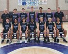 Carlsbad Lancers Boys Freshman Basketball Winter 17-18 team photo.