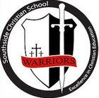 Southside Christian Warriors Boys Freshman Basketball Winter 17-18 team photo.