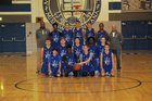 Mishawaka Marian Knights Boys Freshman Basketball Winter 17-18 team photo.