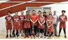 Ripon Indians Boys Freshman Basketball Winter 17-18 team photo.