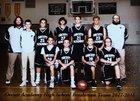 Orcutt Academy Spartans Boys Freshman Basketball Winter 17-18 team photo.