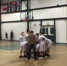 Millennium Charter Academy Lions Boys Freshman Basketball Winter 17-18 team photo.