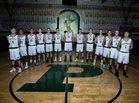 Poway Titans Boys Freshman Basketball Winter 17-18 team photo.