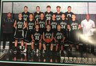 Onate Knights Boys Freshman Basketball Winter 17-18 team photo.