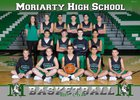 Moriarty Pintos Boys Freshman Basketball Winter 17-18 team photo.