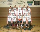 Campo Verde Coyotes Boys Freshman Basketball Winter 17-18 team photo.