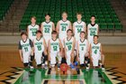 Hoxie Mustangs Boys Freshman Basketball Winter 17-18 team photo.