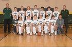 Mountain Vista Golden Eagles Boys Freshman Basketball Winter 17-18 team photo.