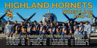 Highland Hornets Boys Varsity Wrestling Winter 17-18 team photo.