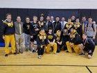 Archbishop Wood Vikings Boys Varsity Wrestling Winter 17-18 team photo.