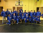 North Little Rock Charging Wildcats Boys Varsity Wrestling Winter 17-18 team photo.