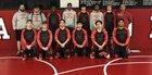 Northside Grizzlies Boys Varsity Wrestling Winter 17-18 team photo.