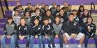 Kirtland Central Broncos Boys Varsity Wrestling Winter 17-18 team photo.