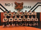 Aztec Tigers Boys Varsity Wrestling Winter 17-18 team photo.
