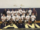 Burnt Hills-Ballston Lake Spartans Boys Varsity Volleyball Spring 16-17 team photo.
