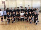 Valley Academy of Arts & Sciences Vipers Boys Varsity Volleyball Spring 16-17 team photo.