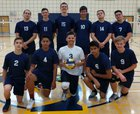 River City Raiders Boys Varsity Volleyball Spring 16-17 team photo.